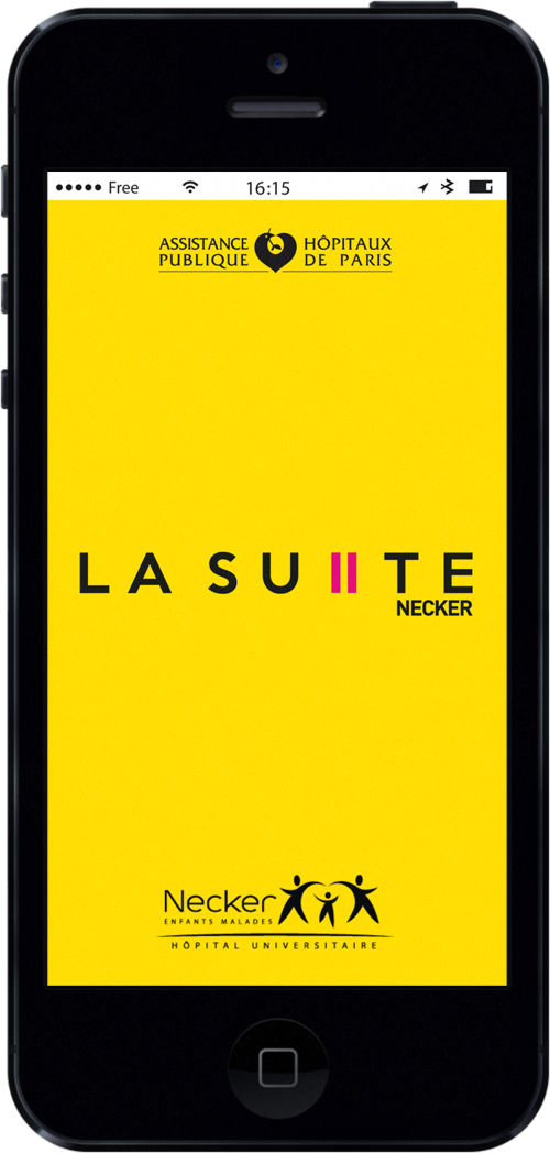Lancement de l'Application Mobile La Suite Necker